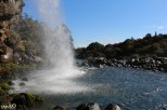 The pool at the end of Taranaki Falls
