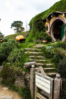Bilbo and Frodo's residence, Bag End, on Bagshot Row
