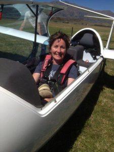 Sue Telford, Trainer for Wanaka Flight Training. New Zealand Association of Women in Aviation