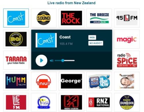 NZFMラジオオンラインライブストリーミング