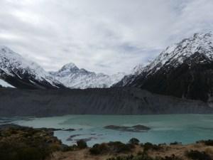 ミューラー氷河湖8月12日
