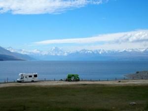 プカキ湖畔フリーダムキャンプサイト