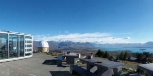 テカポのマウントジョン天文台とカフェ