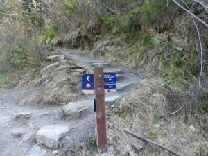 ティキトレイルの道標