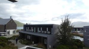 テカポブルーウォーターリゾートバルコニーからの眺め