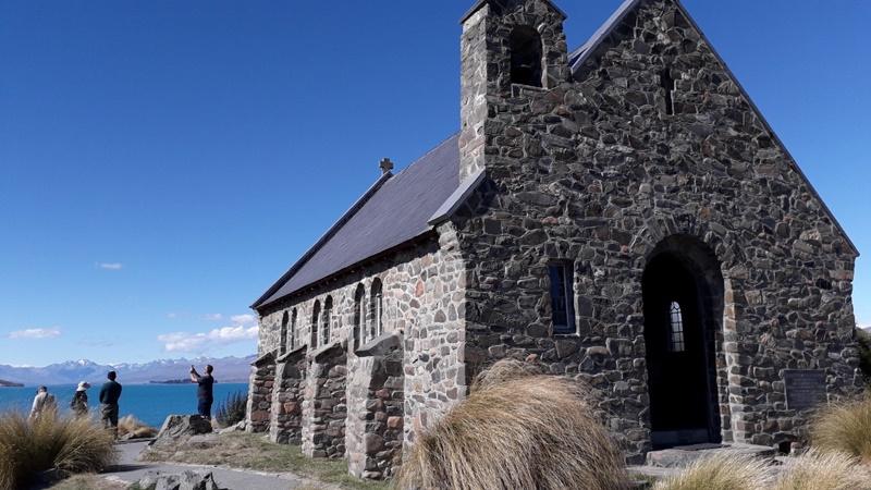 テカポ湖畔の良き羊飼いの教会