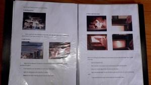 暖炉の火付け方法