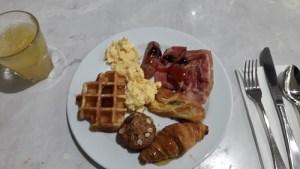 マウントクックハーミテージホテル朝食バッフェメインチョイス
