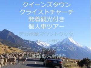 NZブリーズクイーンズタウンクライストチャーチ発着個人車送迎サービス