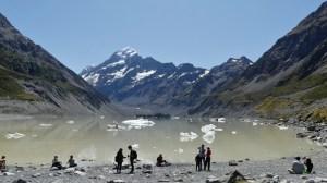 2月11日フッカーバレートレッキングフッカー氷河湖
