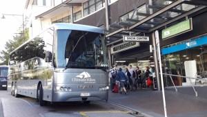 3月4日ミルフォードトラックUlitimateHikeクイーンズタウン発バス