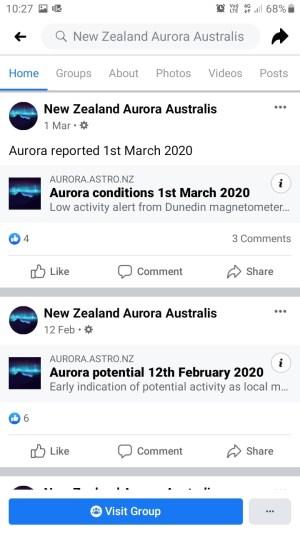 NZAuroraAustralisフェイスブックページ