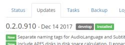 radarr update windows
