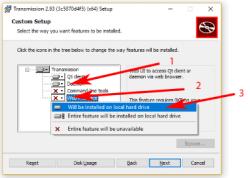 torrent transmision web windows
