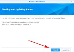radarr-update-synology