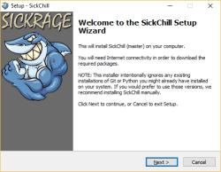 SickChill-installeren