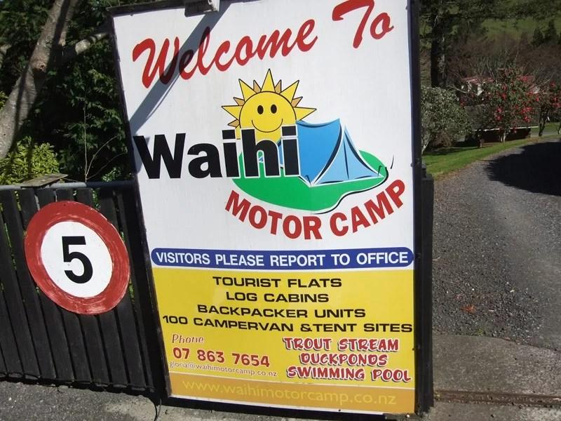 Waihi Motor Camp