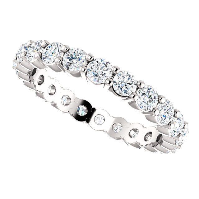 Platinum Diamond Eternity Ring 120ct NZ Diamonds