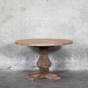 Mulhouse Round Elm Table - 120cm
