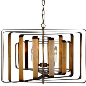 Fence metal pendant hanging lamp