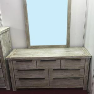 Manchester drawer dresser dressing table w/ mirror