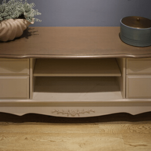 GK51L Beautiful Solid Birch Wood TV Unit
