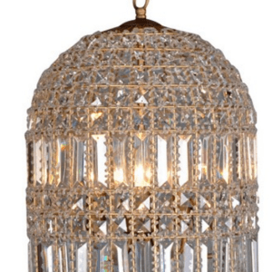 RL4001 ANTIQUE CRYSTAL CHANDELIER