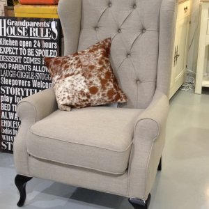 SP3172 Daisy/ Vintage wing chair/Single Seater sofa/armchair