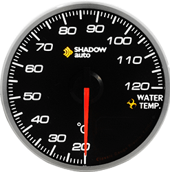 Shadow Pro 2.0 Sports Meter - 52mm BF Water Temp Gauge