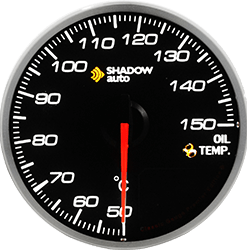 Shadow Pro 2.0 60mm Sports Meter -- Fuel Pressure (PSI)