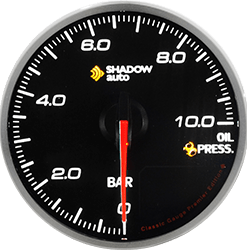 Shadow Pro2.0 60mm Sports Meter -- Oil Pressure BF (PSI)