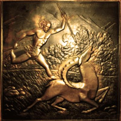 Chacking: Tembaga mengejar tangan anda sendiri untuk logam