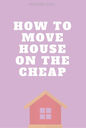 How to save money when moving house!