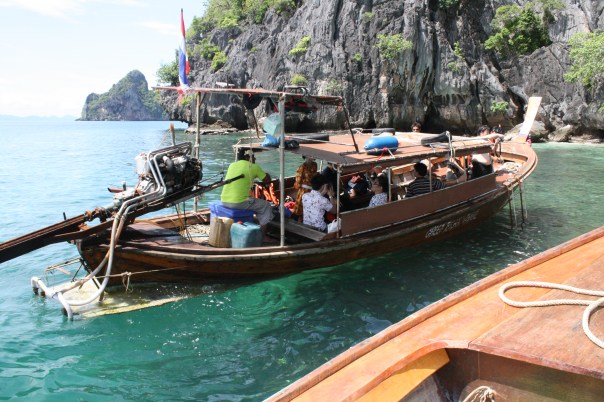 Snorkelling in Thailand - four islands tour