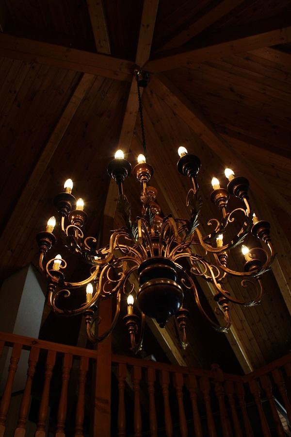 schone aussicht chandelier