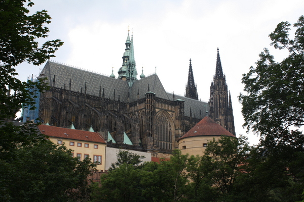 Prague castle grounds
