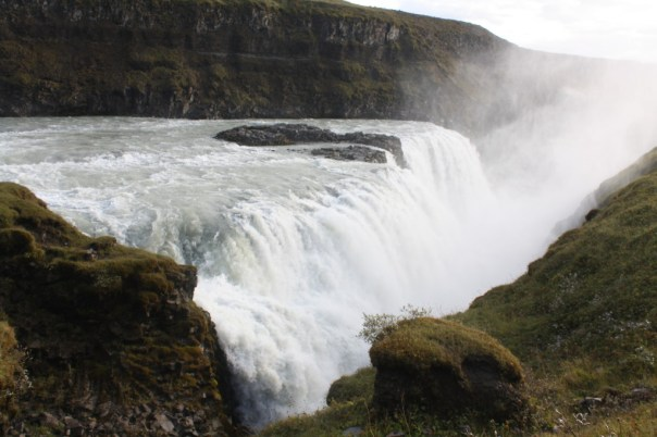 Gulfoss waterfall - Iceland golden circle