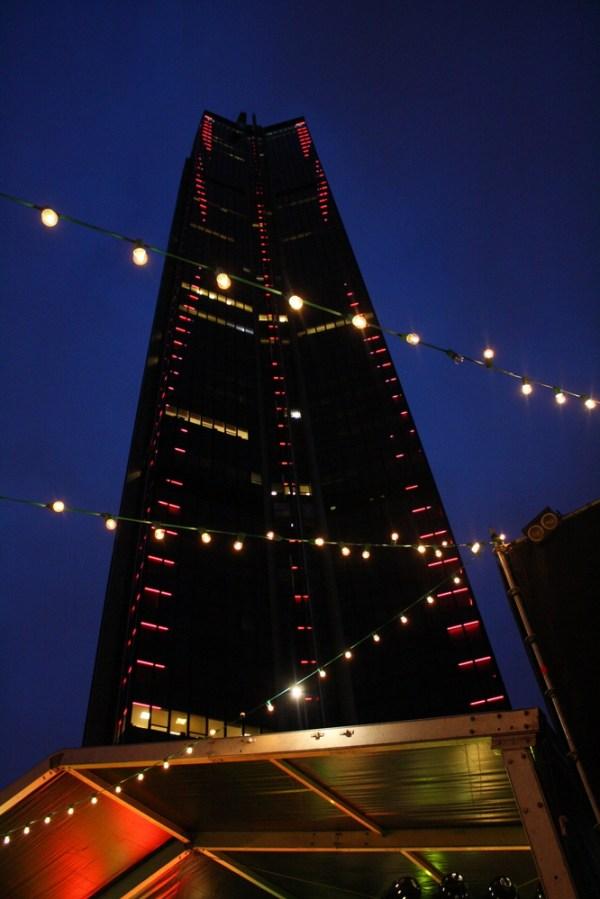 Montparnasse tower at night 40th birthday