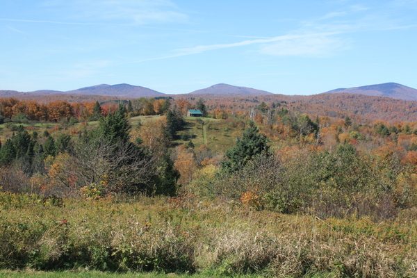 vermont new england fall colours