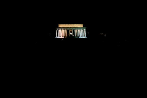 Lincoln Memorial at night - Washington DC