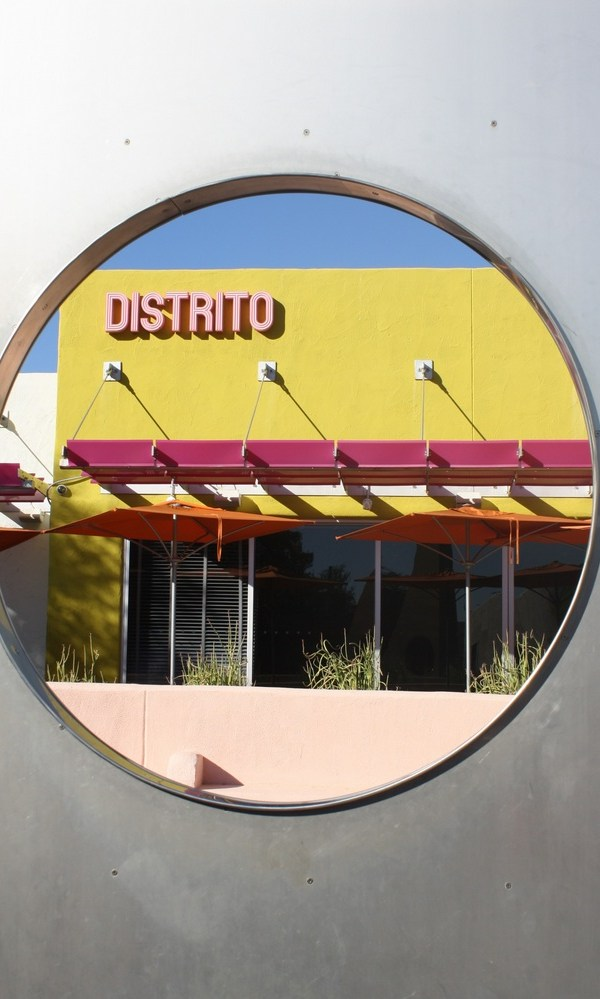 Distrito - Colourful architecture in Scottsdale Arizona