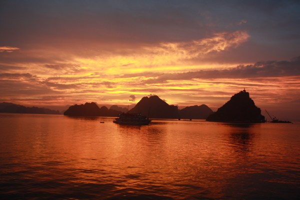 Halong Bay in Vietnam - a RTW highlight