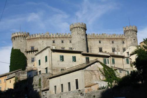 Bracciano castle in Italy