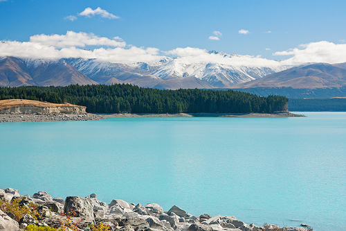 Lake Pukaki - Places I want to hike in NZ