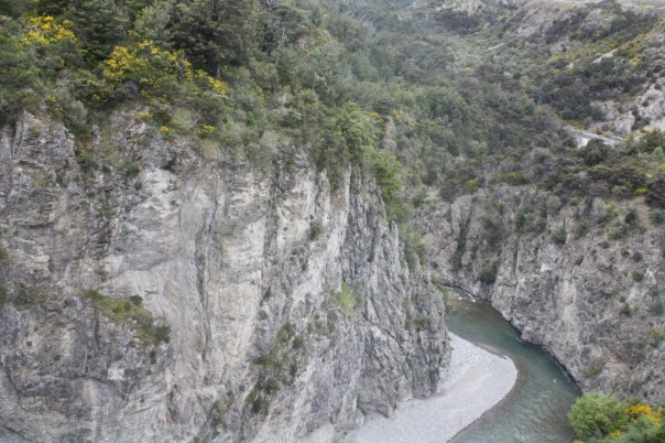 Waimakariri Gorge seen from the TranzAlpine train