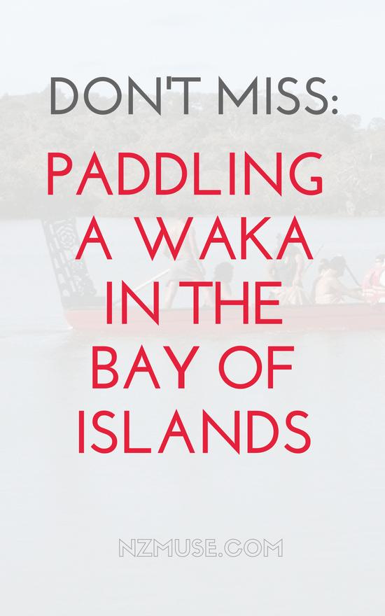 Waka with Taiamai Tours, Bay of Islands, NZ