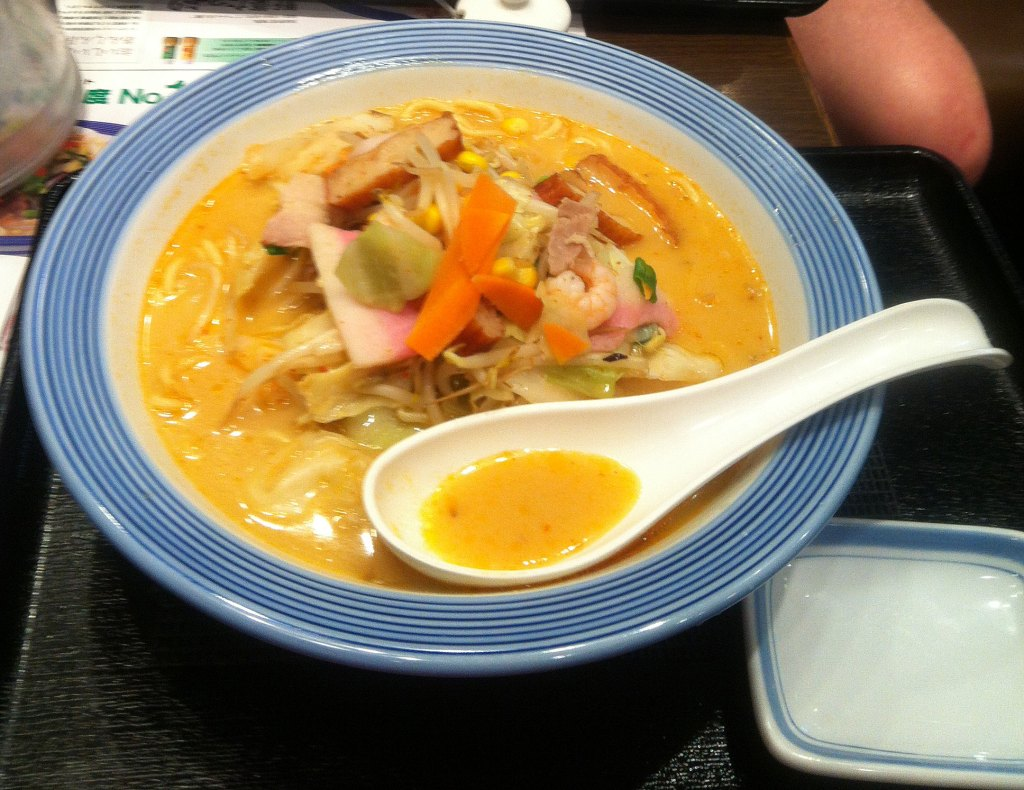 Champon noodles in Tokyo - NZ Muse