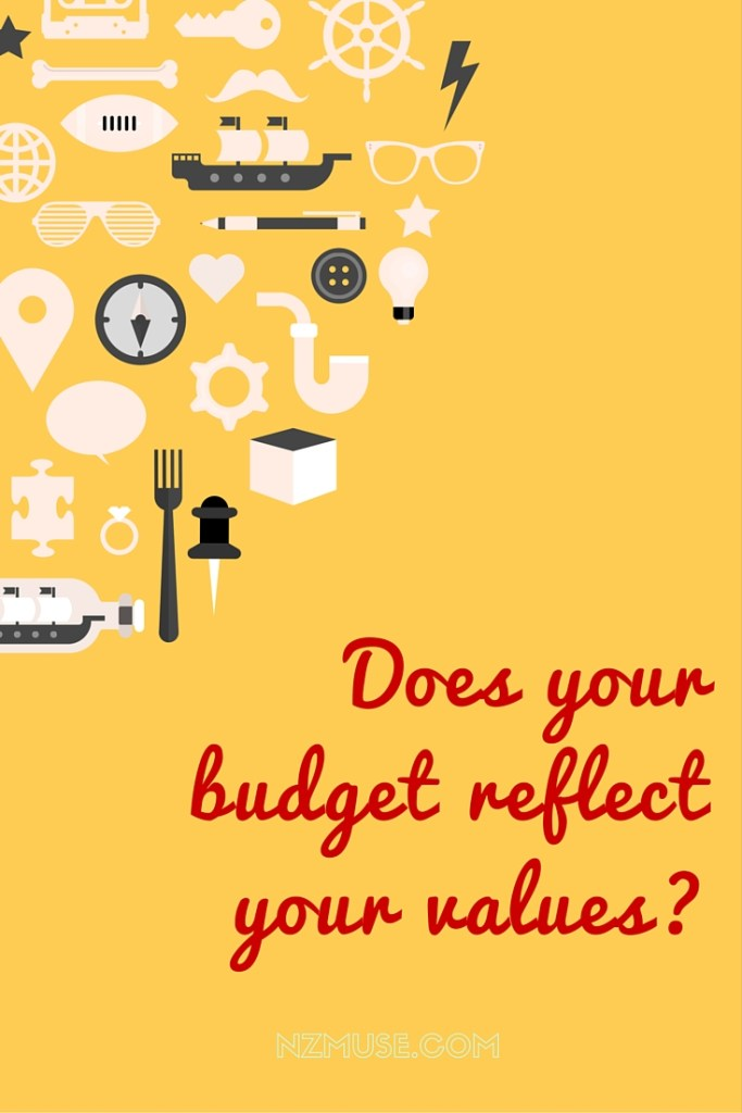 Does your budget reflect your values?