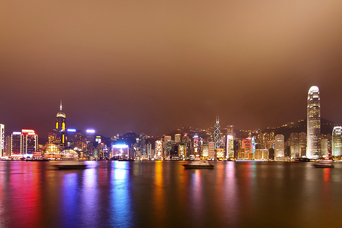 Victoria Harbour Hong Kong