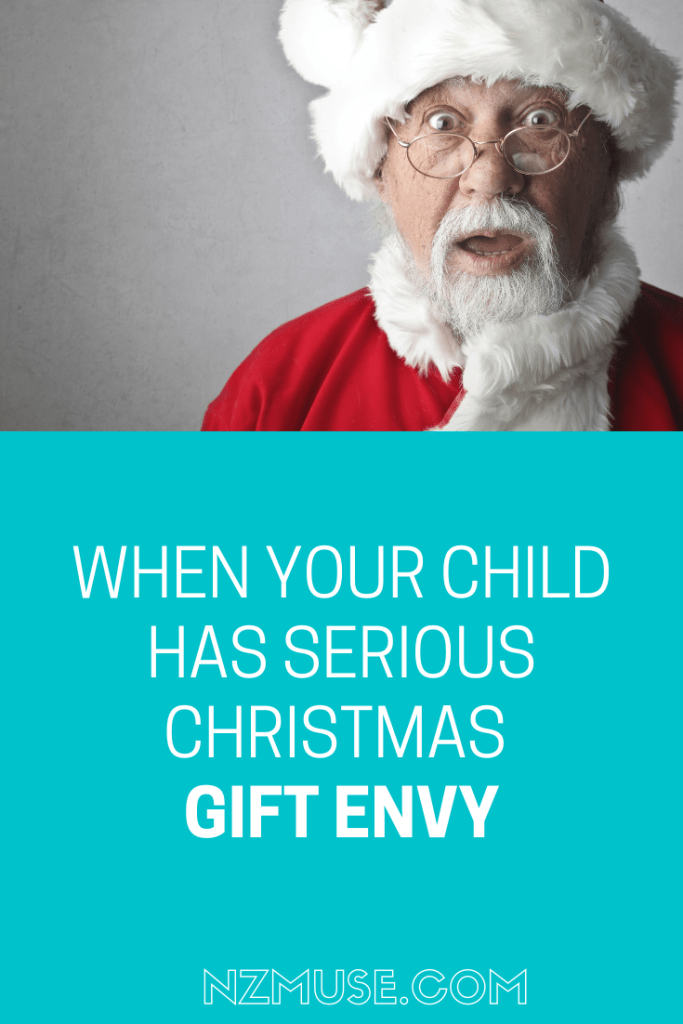 CHRISTMAS GIFT ENVY IN KIDS